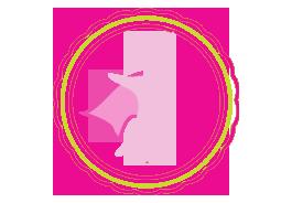 Pink Hero Icon