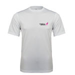 Click here for more information about White High Performance Tee with Susan G. Komen Logo