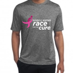 Click here for more information about Heather Gray Race for the Cure Performance Tee