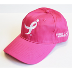 Click here for more information about Hot Pink Running Ribbon Baseball Cap