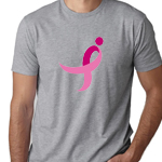 Click here for more information about Gray Cotton Tee with Running Ribbon