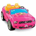 Click here for more information about Power Wheels Barbie Ford Mustang