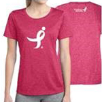 Click here for more information about Heather Pink Women's Contender Tee