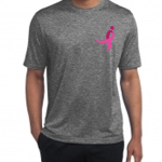 Click here for more information about Heather Gray Running Ribbon Performance Tee